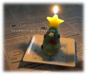 オリジナルクリスマスキャンドルを作ろう♪
