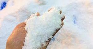 人工雪の実験をしよう♪